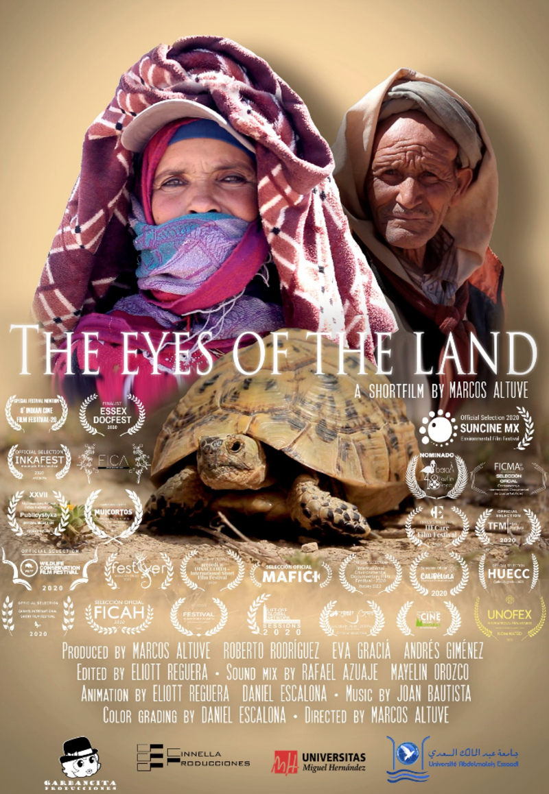 Fig 3. Poster of the short documentary film The eyes of the land.