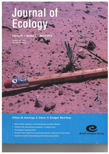 Journal of Ecology 2010